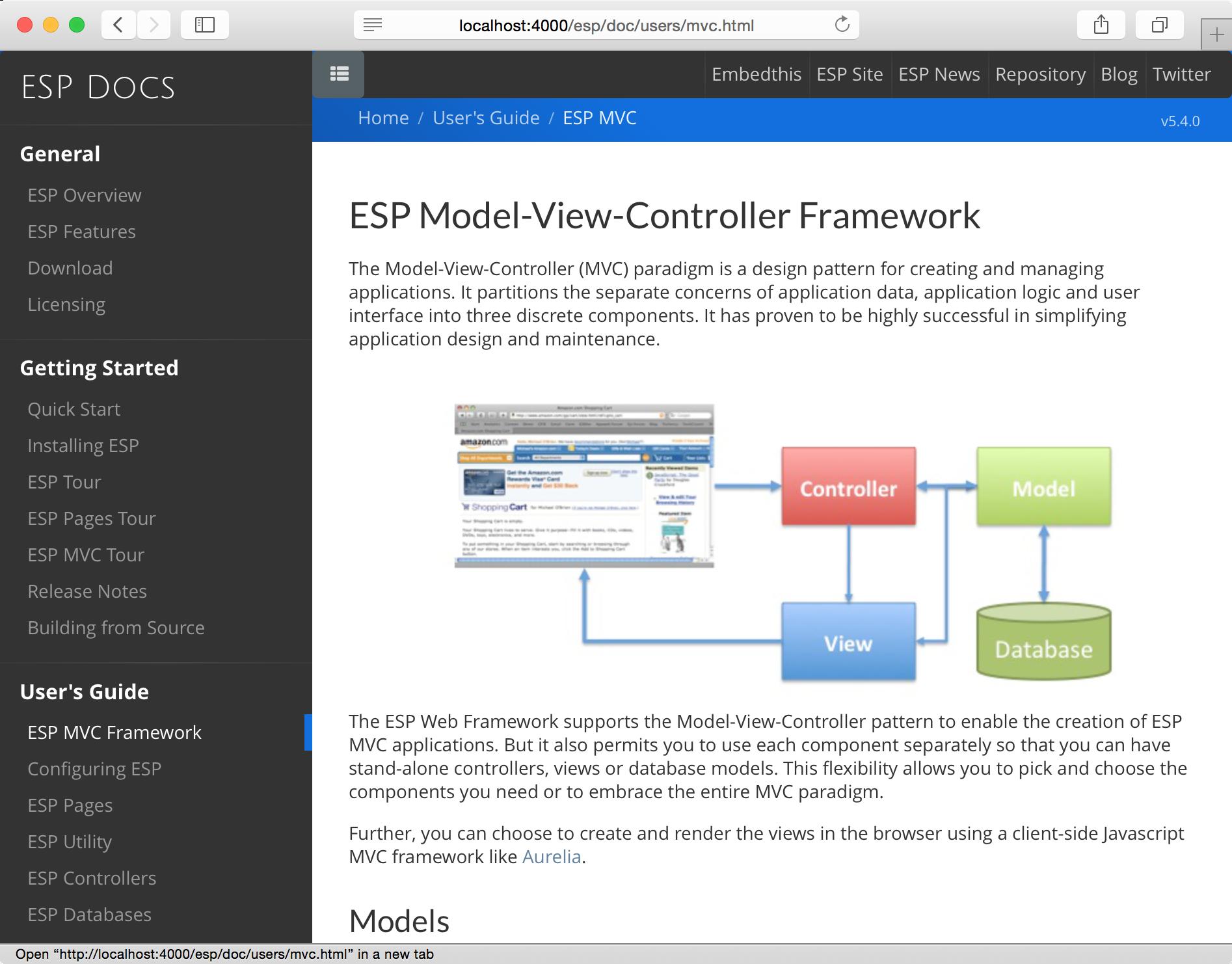 ESP Web Framework   Embedded Web Servers   Embedthis Software